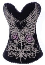 AGWDB black tattoo corset