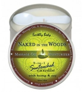 AGWDM naked in the woods candle