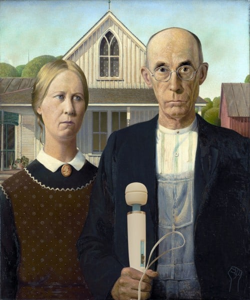 American Hitachi by Grant Wood